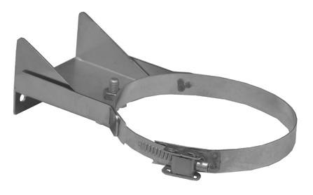 Dinak - DIFLUX - 831 - platte telescopische muurbeugel