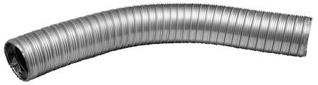 Dinak - DINAFLEX - flexibel dubbelwandig 2 x 316L D 125
