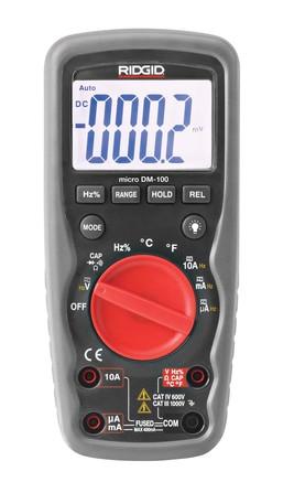 Ridgid - Micro DM-100 - Ridgid multimeter DM100