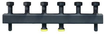 Van Marcke Solutions - verdeelstuk voor 3 circuits - met hydraulische scheiding
