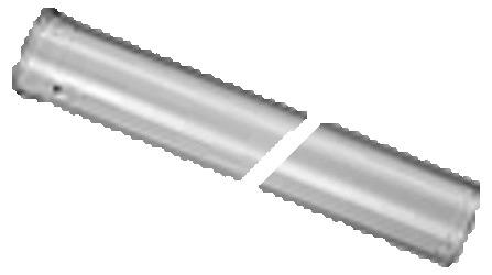 JU AZB604 TUBE D80/125 L0.5M