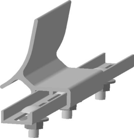 Wolf - Solar - Set de connexion de rail