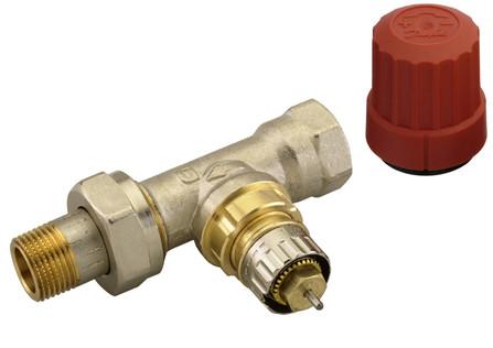 Danfoss - RA-N - robinet de radiateur - droit - 3/4