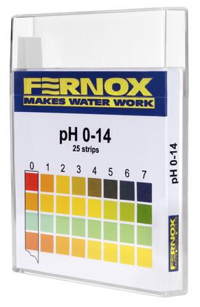 Fernox - Bandelette PH 25 pièces