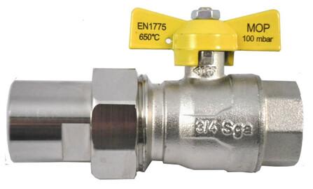 ROBINET GAZ ARGB FR 1/2 LAITON