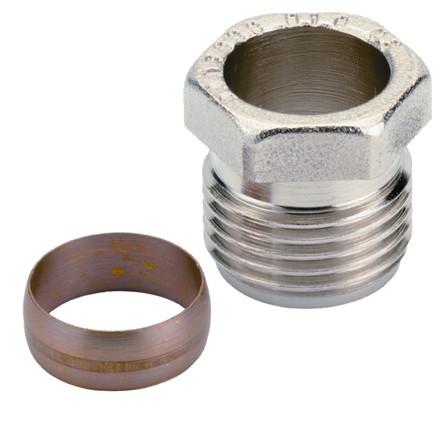 Danfoss - RA - raccord à bicône acier/cuivre 1/2