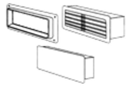 Soler & Palau - BRM - Rechthoekige muurflens