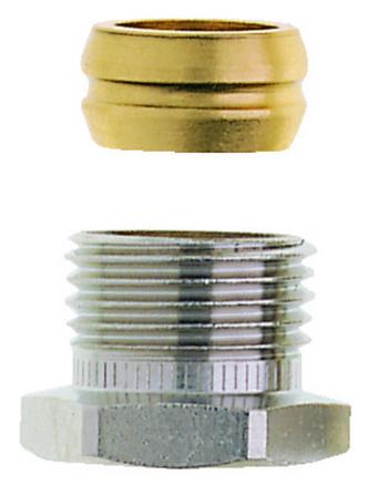 Heimeier - raccord à compression pour tube en cuivre ou en acier de précision
