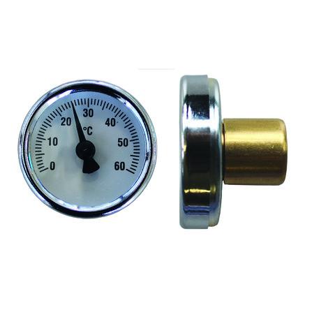 Schütz - Thermomètre p/thermomètre de retour en laiton