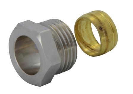 """Van Marcke Intro - raccord à compression pour tube en cuivre 1/2""""M"""