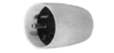 2-polig + aarding - 16A - ivoor