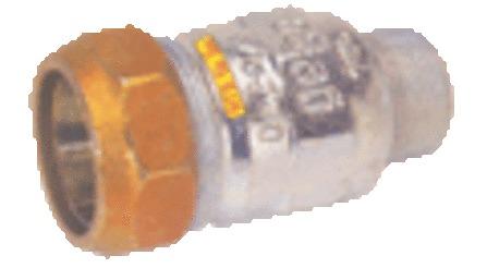 Gebo - manchon à serrer - M x tube
