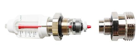 Schütz - Indicateur de débit p/distributeur en acier inox