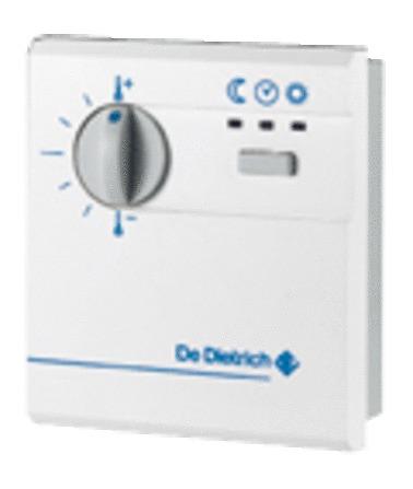 De Dietrich - FM52 - comm. à distance simplifiée a/sonde d'ambiance GT 220/2200
