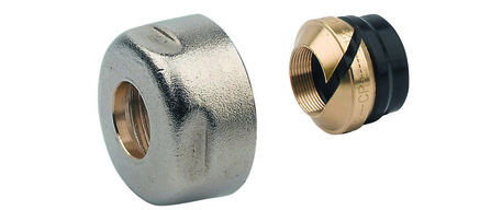 "Van Marcke Intro - raccord à compression pour tube en cuivre 3/4""F Euroconus"