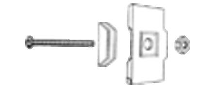 Rofix - P - plaque de fixation arrière
