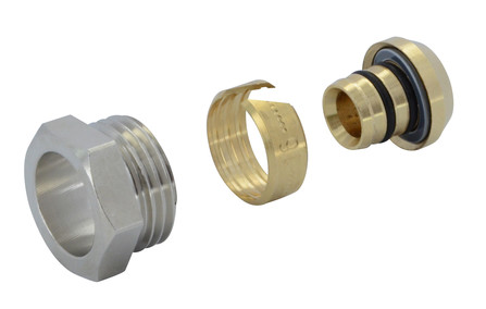 "Van Marcke Intro - raccord à compression pour tube PEX-ALU 3/4""M"