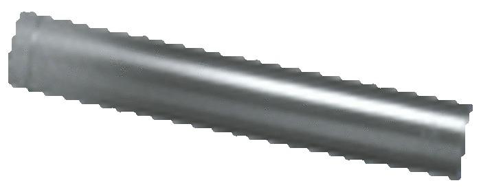 ALUMINIUM TUYAU 100 CM X 250MM