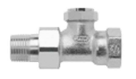 Honeywell - Verafix-E - raccords de radiateur réglables - droits