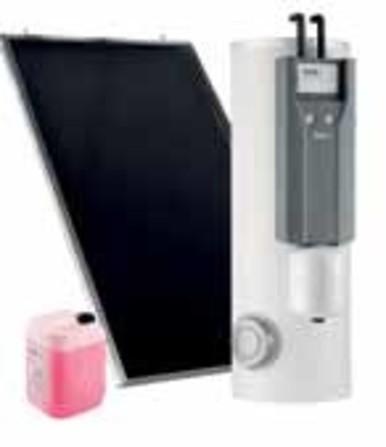 De Dietrich - Inisol UN0 BSL met elektrische naverwarming