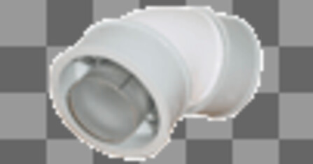 Bulex - fumisterie - coude conc. 60/100 45°