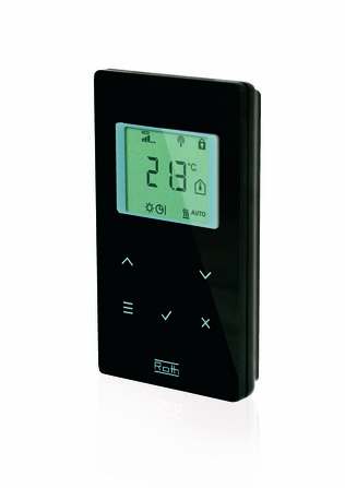 Roth - FHS - thermostat sans fil 230 V - noir