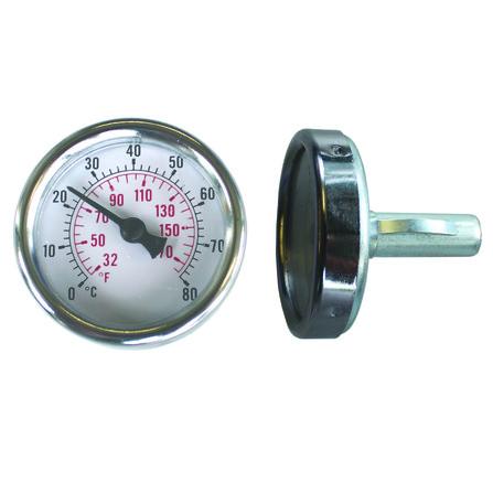 Schütz - Thermomètre p/thermomètre de retour en nickle