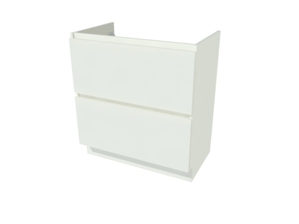 Van Marcke Origine - Ventus Tre - sous-meuble - 80 cm - 2 tiroirs
