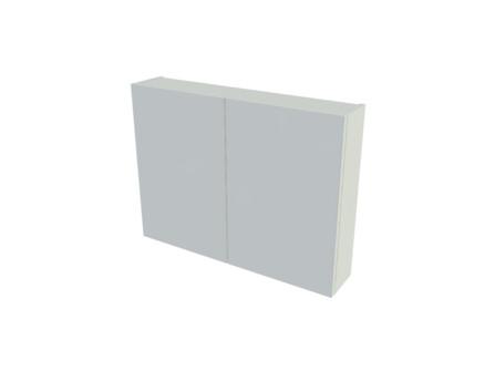 intro - Basic - armoire de toilette - 80 cm - 2 portes