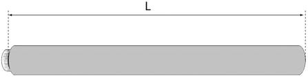 BU 0020257008 TUBE D60/100 L1M