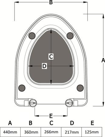 VMO ETERNO SOFTCL WC-SITZ