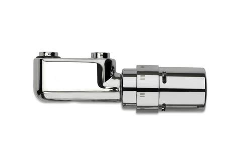 Vasco jeu de robinetterie de radiateurs équerre chromé