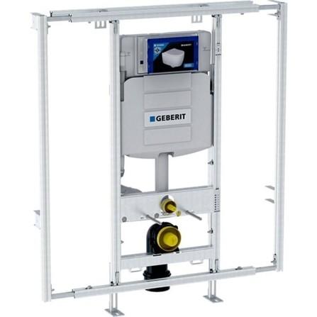 Geberit - GISeasy - module pour WC suspendu - 120 cm - réservoir de chasse à encastrer Sigma 12 cm