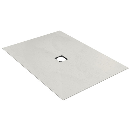Wedi - Fundo Top Primo - surface prêt à poser - rectangulaire - écoulement centré