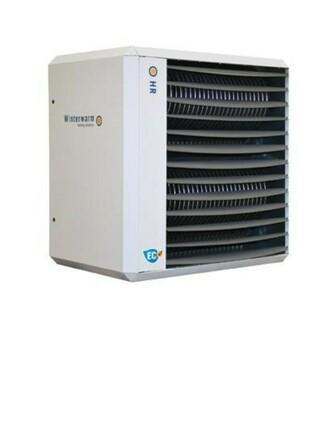 Winterwarm - HR - EC - condenserende luchtverwarmer
