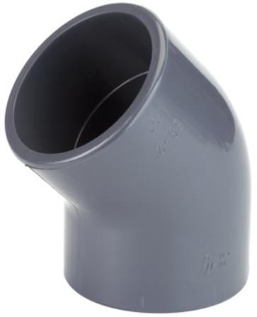 Georg Fischer - TP - PVC-U coude - 45° - FF