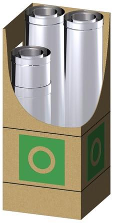 Dinak - Dinagas CLV+ 316L/Galva -  0BL - kit verdieping blind