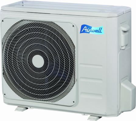 Airwell - YHDH - 012 - split aircosysteem - buitenunit - monosplit - monofasig