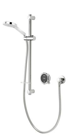 Aqualisa - Quartz Touch - modèle encastré - avec douchette à main