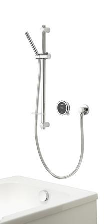 Aqualisa - Quartz Touch - modèle encastré - avec douche à main et rempl./vidage baignoire