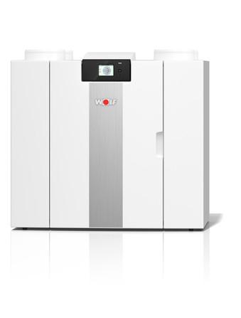 Wolf - CWL-2 - ventilatie-unit systeem D met warmteterugwinning - ErP ventilatie: A