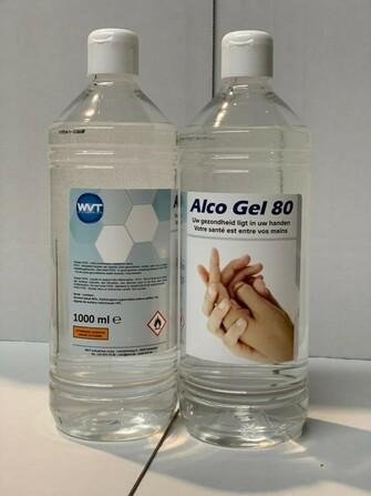 Orbi - Gel désinfectant pour les mains - 80% d'alcool