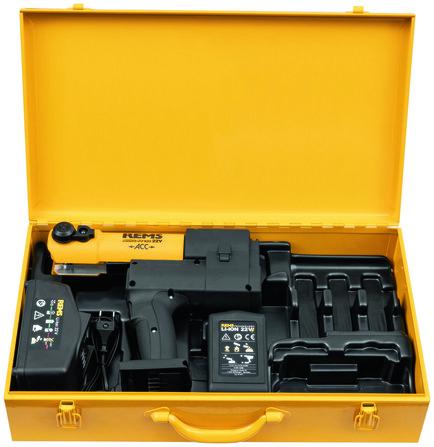 Rems - Akku-Press Basic-Pack - sertisseuse universelle - dans un boîtier en acier