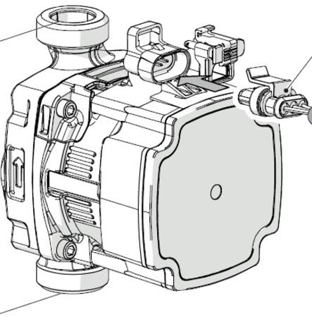 Riello Tau Unit - circulatiepomp primaire kring - Tau Unit 35 en 50