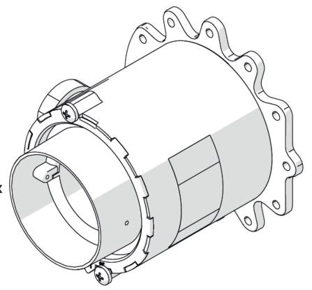 Riello - Tau Unit - kit gas L (G25)