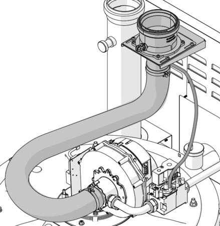 Riello Tau Unit - ombouwkit type C (modellen 35-50)