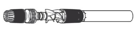 Riello - Tau Unit - fumisterie - D80/125 - passage toiture
