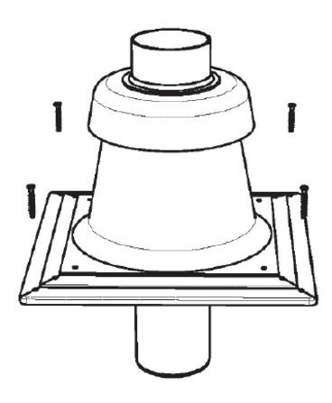 Riello Tau Unit - schoorsteenkap - D 110