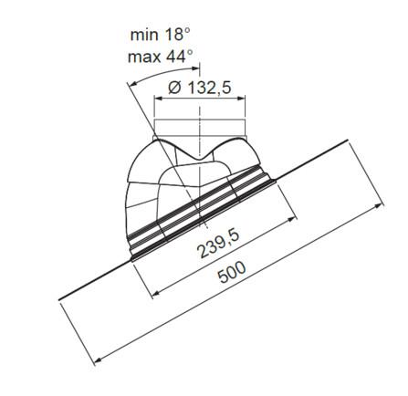 Riello - Tau Unit - fumisterie - passage toiture