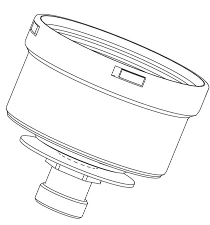 Riello Tau Unit - afsluitdop voor condensafvoer - D80
